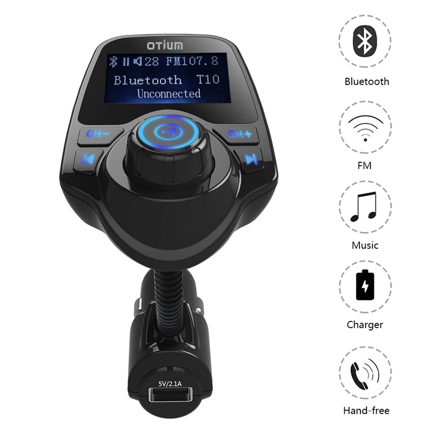 Top 5 Best Bluetooth Receiver Enhancing Your Car Audio Quality 2017