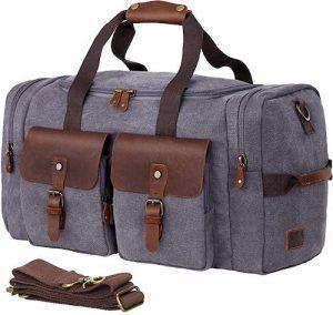 WOWBOX Duffel Bag Weekender Bag for Men and Women