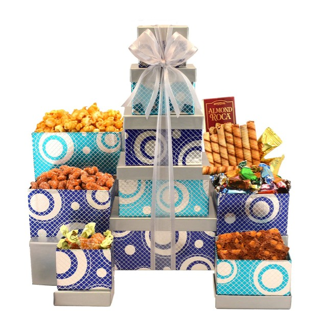 Gourmet Gift Tower - Valentine's day gifts