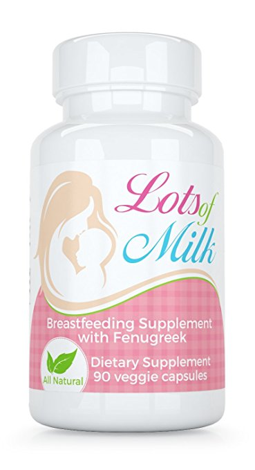 Lots of Milk - Breastfeeding Nursing Blend with Fenugreek