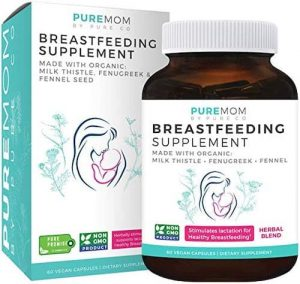 PURE CO Organic Breastfeeding Supplement