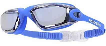 Actorstion Swim Goggles With Anti Fog UV Protection