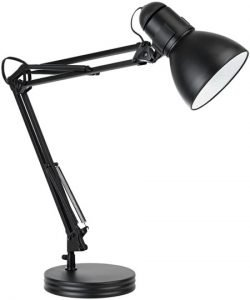 Globe Electric Heavy Base Architect Spring Balanced Swing Arm Desk Lamp