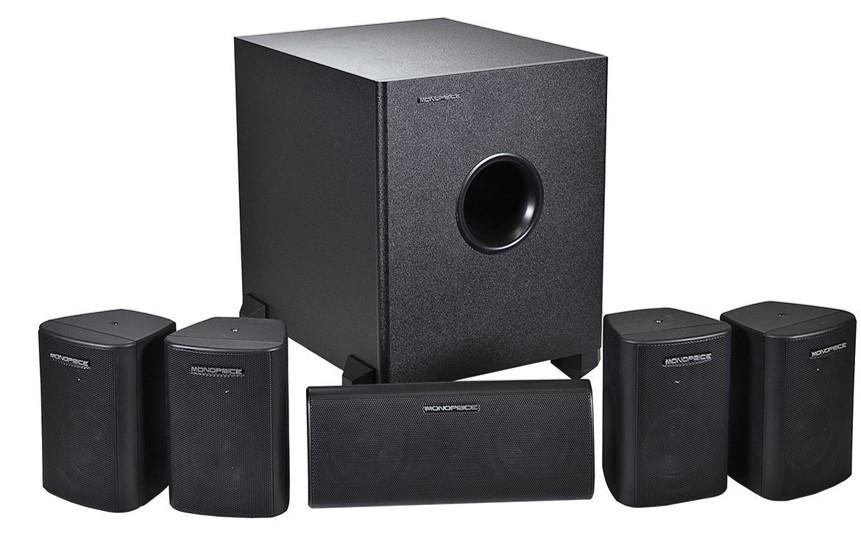 Monoprice 108247 Home Theater Speaker System