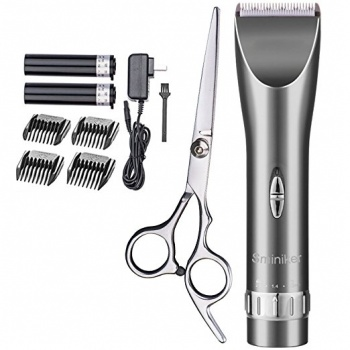 Sminiker Professional Cordless Rechargeable Hair Clipper
