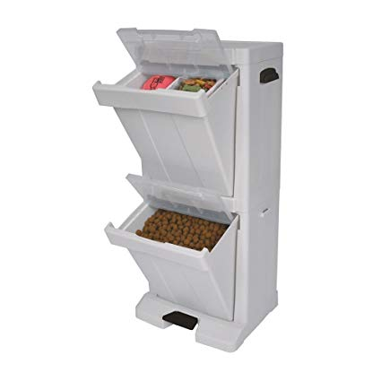 Dog food container - Richell Pet Stuff Tower For Food Storage