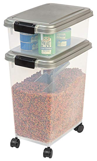 The Iris 3-Piece Airtight Dog Food Container