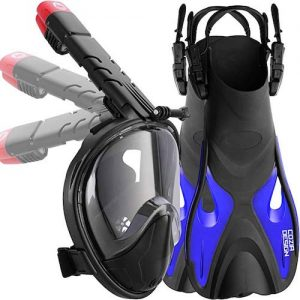 Cozia design Foldable Snorkel Set