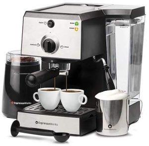 Espresso Works All-In-One Espresso Coffee Machine