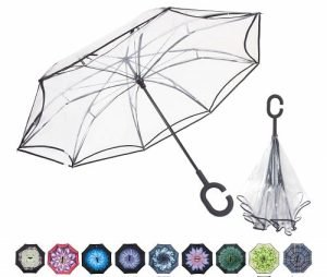 WASING Double Layer Inverted Umbrella