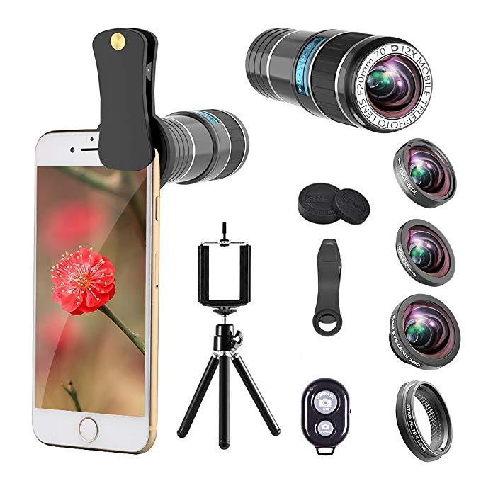 12X Telephoto smart phone camera Lens