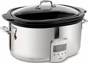 All-Clad Programmable Oval-Shaped Slow Cooker