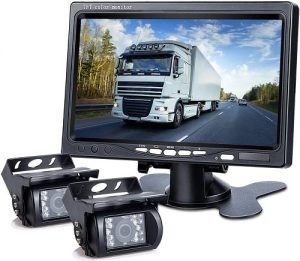 DVKNM Dual Backup Camera Monitor Kit