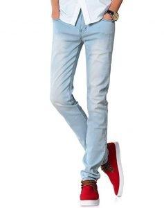 Demon & Hunter 808 YOUTH Men's Skinny Slim Jeans