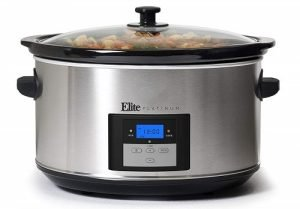 Maxi-Matic Elite Platinum MST-900D 8.5 Quart Cooker