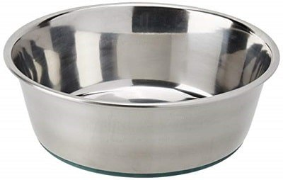 Van Ness Stainless Steel Small Dog Dish