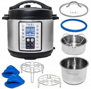 Yedi Instant Programmable Pressure Cooker