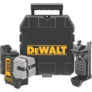 DEWALT Self Leveling 3-Beam DW089K Line Leveling Laser