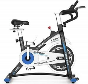 L NOW Stationary Exercise Bike D600