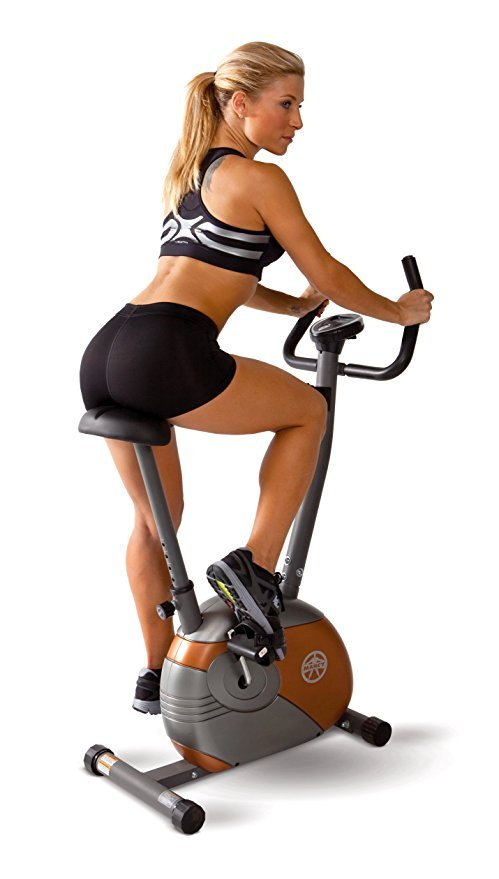 Marcy Upright Exercise Bike with Resistance
