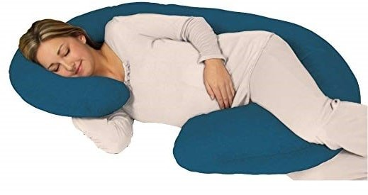 Snoogle Chic Jersey Total Body Pregnancy Pillow