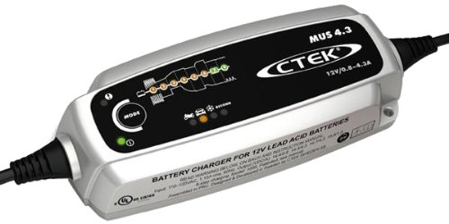 CTEK (56-864) Fully Automatic 8 Step Smart Battery Charger