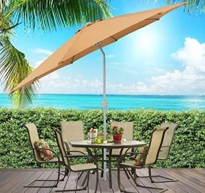 Best Choice Products Outdoor Market Patio Umbrella