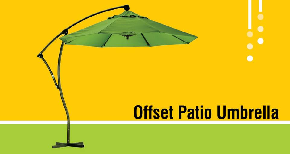 Top 9 Best Offset Patio Umbrella Reviews 2018