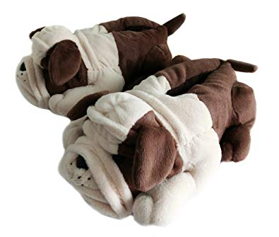 Onmygogo Fuzzy Winter Indoor Animal Slippers for kids