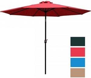 Sunnyglade 9' Patio Umbrella Outdoor Table Umbrella