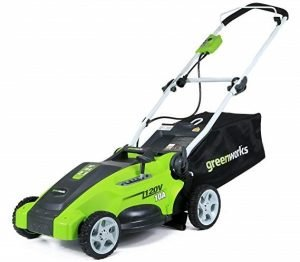 GreenWorks Corded Lawn Mower 25142 16-Inch 10 Amps