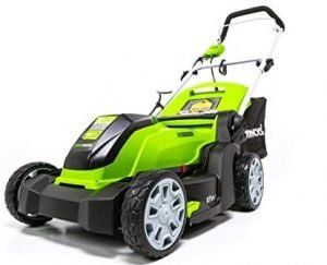 Greenworks 17-Inch 10 Amps Corded Lawn Mower MO10B00