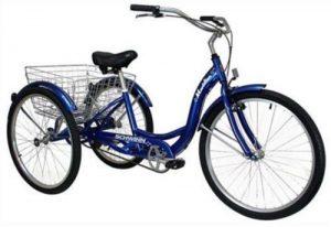 Adult Schwinn (3)-Wheeled Trike Men's - Women's Bicycle