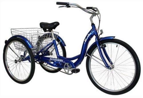 Adult Schwinn (3)-Wheeled Trike Men's - Women's Bicycle