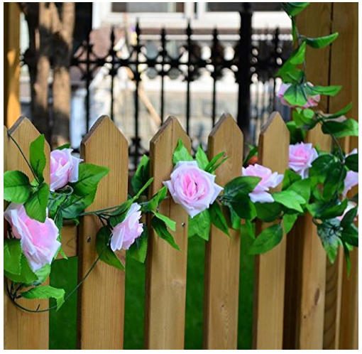 Fake Rose Garland Plant