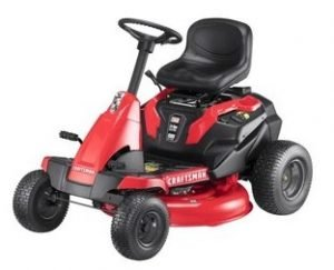 CRAFTSMAN E150 30-in Electric Riding Lawn Mower