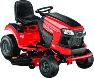 CRAFTSMAN E225 42-in Electric Riding Lawn Mower