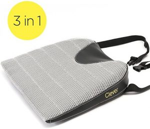 Car Seat Cushions with Strap by Clever Yellow