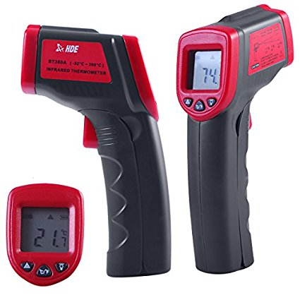 HDE Laser Temperature Gun Infrared Thermometer
