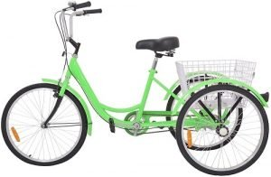 H & ZT Tricycle 1-Speed Trike Cruiser Bike