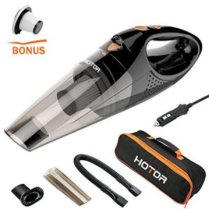 Hotor Car Vacuum Cleaner with LED Light