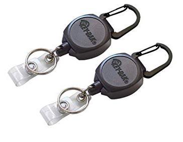 Key-Bak Sidekick Retractable Key Chains