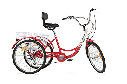 Komodo 24 inch, 6-speed Adult Tricycle