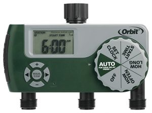 Orbit 3-Outlet Programmable Hose Faucet Timer