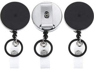 Outus 3-Pack Retractable Key Chain
