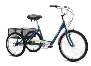 Raleigh's Tristar 3-Speed Trike Adult 3 wheel bike