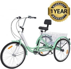 Slsy Three-Wheel Adult Tricycle