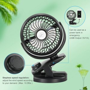 comlife battery operated fan