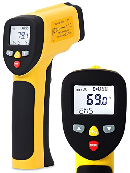 ennoLogic Dual Laser Non-Contact Infrared Thermometer