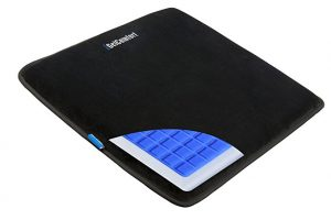 iGelComfort Enhanced Gel Multi-Use Gel Seat Cushion with Memory Foam Silicon Anti-slip